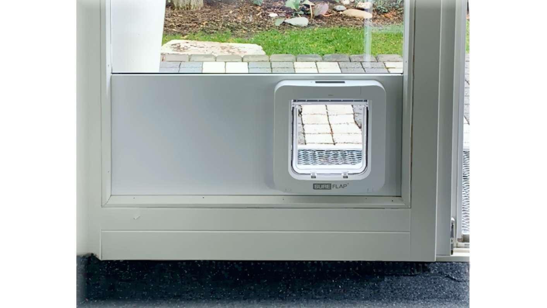 Aluminium-Wärmepaneel für Katzenklappen