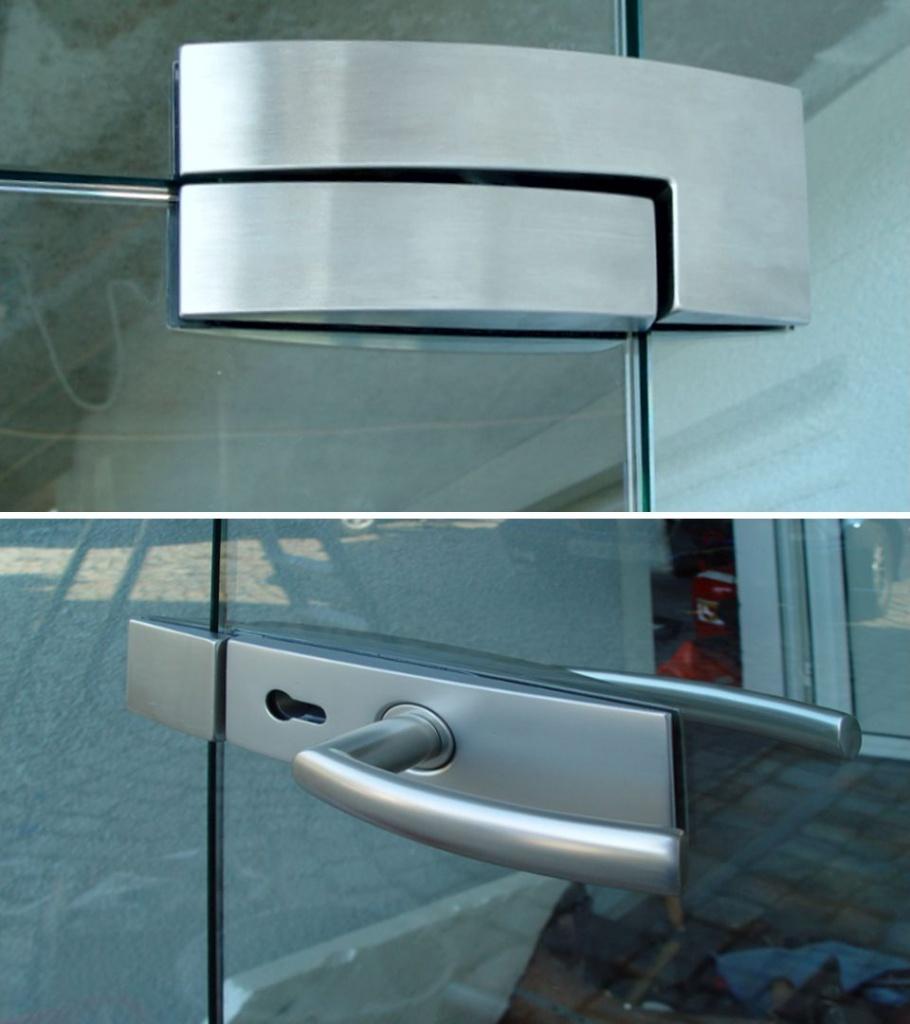 Drehtürbeschläge für Glas-Drehtüren