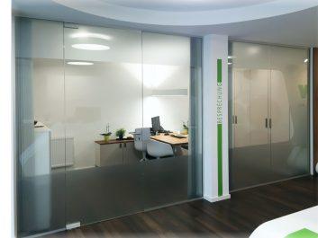 Glastrennwand Für Büroräume