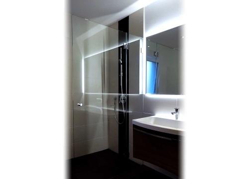 Glas-Duschtür-Glas-Voit