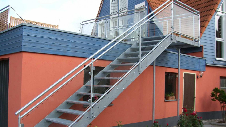 Glasbrüstung und Geländer Aussenbereich