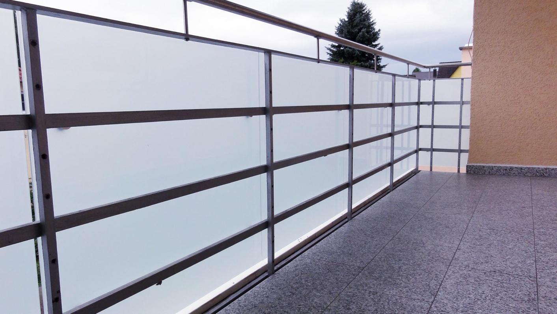 Glasbrüstung für Balkone