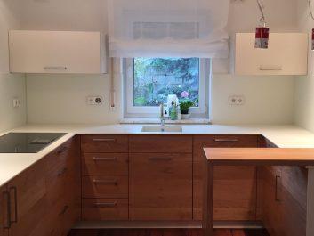 Küchenrückwand Lackiert Und Mattiert