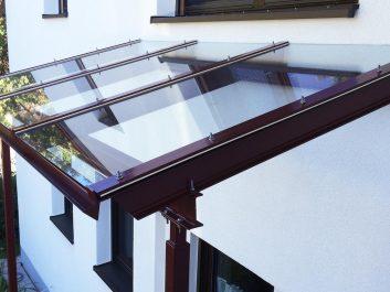 Stahlträger Glasdach