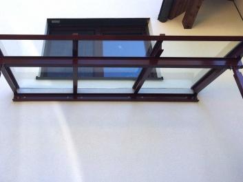 Glas-Stahl-Dach