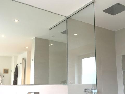 Badspiegel-Verklebt-Glas-Voit