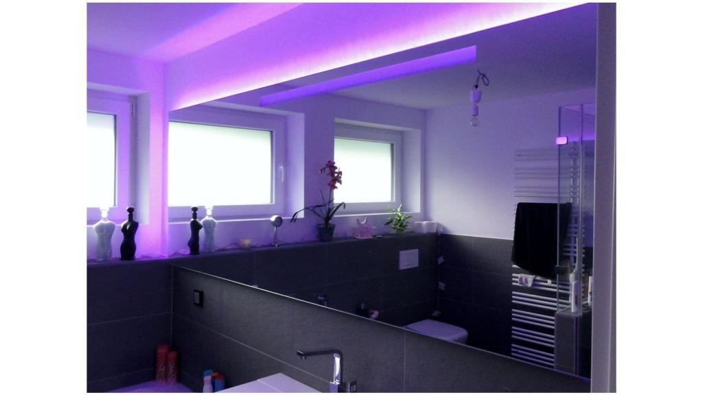 LED beleuchteter Spiegel nach Maß