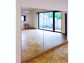 Wandspiegel In Einem Tanzstudio